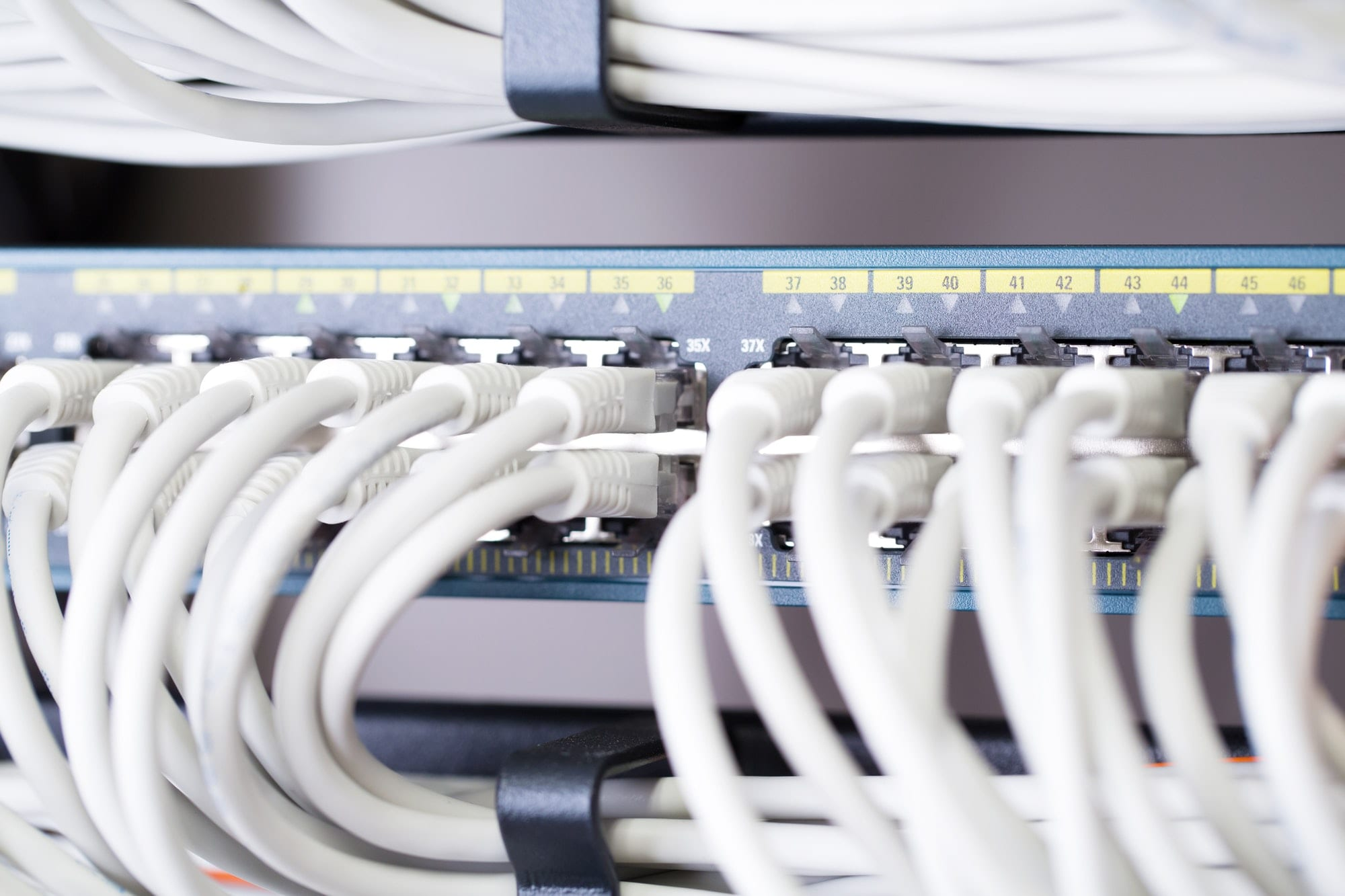 Fast Gigabit Ethnernet network switch in datacenter