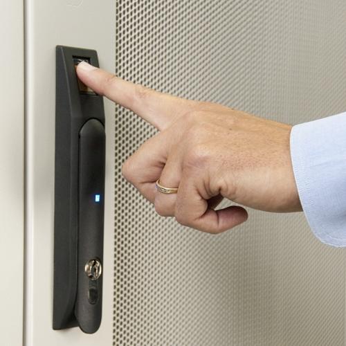 Server rack lock
