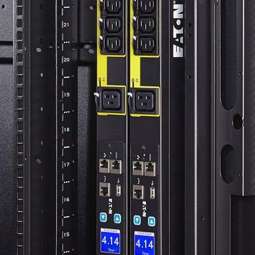 server rack data center PDU